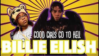 Billie Eilish - all the good girls go to hell | Official Music Video Reaction