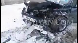 Խոշոր ավտովթար Վանաձորում  բախվել են պարուսույցի Opel ն ու գրադարանավարուհու Nissan ը