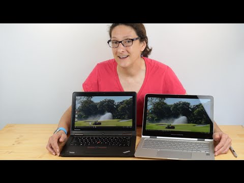 Lenovo ThinkPad Yoga 12 2nd Gen Vs.  HP Spectre X360 Comparison Smackdown