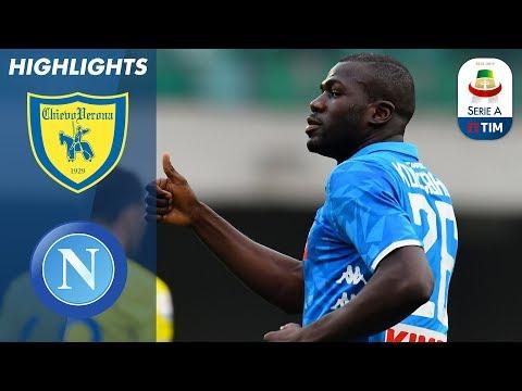 Chievo 1-3 Napoli   Napoli win to delay Juve title celebrations and send Chievo down!   Serie A