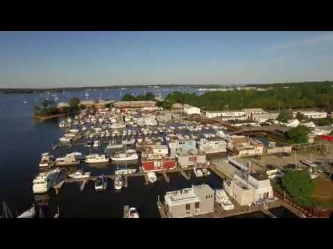 Drone Flight over Port Washington @ Sunset Park
