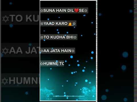 New Romantic Shayari WhatsApp Status Video 2020 Love Poetry Status Tik Tok Shayari status FullScreen