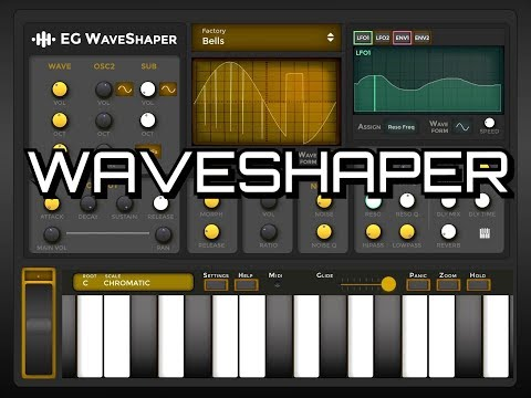 EG WaveSHAPER Synthesizer - OUT NOW - Demo for the iPad