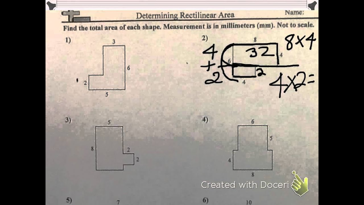 medium resolution of rectilinear figures - YouTube