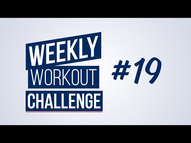 Weekly Workout Challenge #19 | Renaud Center