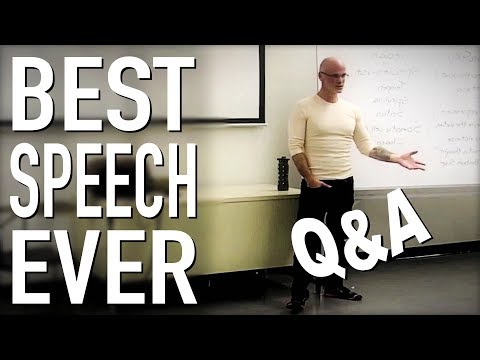BEST Speech You Will Ever Hear Q&A- Gary Yourofsky (Updated)