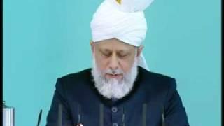 Friday Sermon : 31st July 2009 - Part 4 (Urdu)