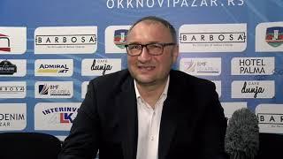 Press konferencija OKK Novi Pazar KK Mladost (90:104) 23.kolo KLS 2021