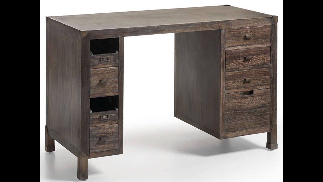 Decora con muebles industriales tnicos youtube - Muebles industriales antiguos ...