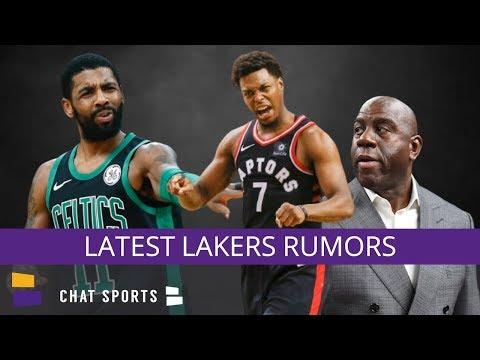 Lakers Rumors On A Kyle Lowry Trade, Magic Johnson's Drama, 2019 NBA Draft Targets & More