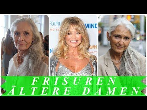 Aktuelle frisuren lange haare für ältere frauen