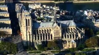 le toit de la cathédrale notre dame