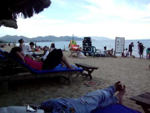 Toàn cảnh bãi biển Nha Trang