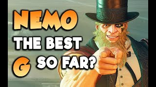 Believe it! Nemo's G is Awesome Already! Street Fighter V Arcade Edition