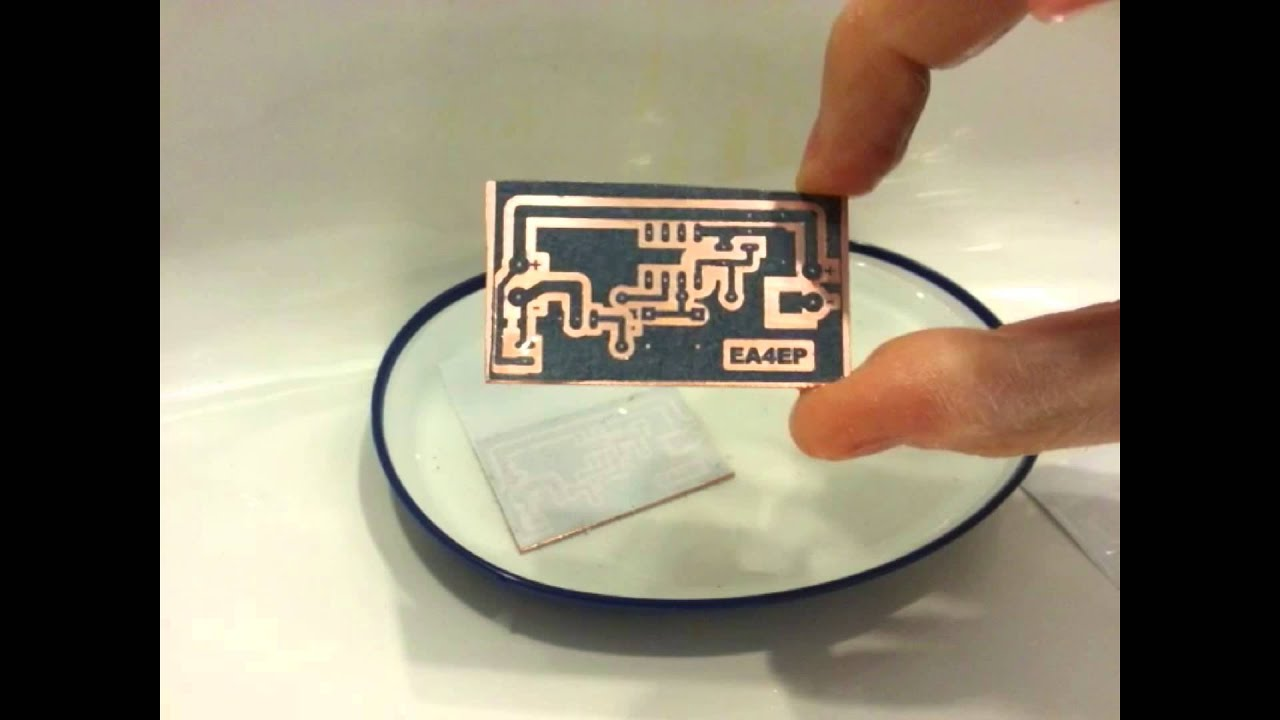 Circuito Impreso : Como fabricar placas de circuito impreso en casa proceso