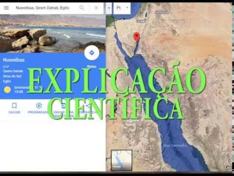 Travessia No Mar Vermelho - Explicação Científica