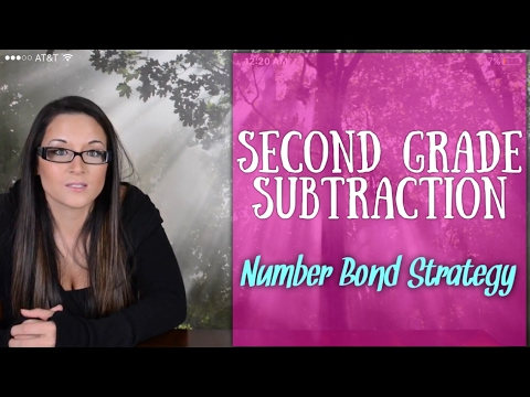 2nd Grade Subtraction: The Number Bond Strategy