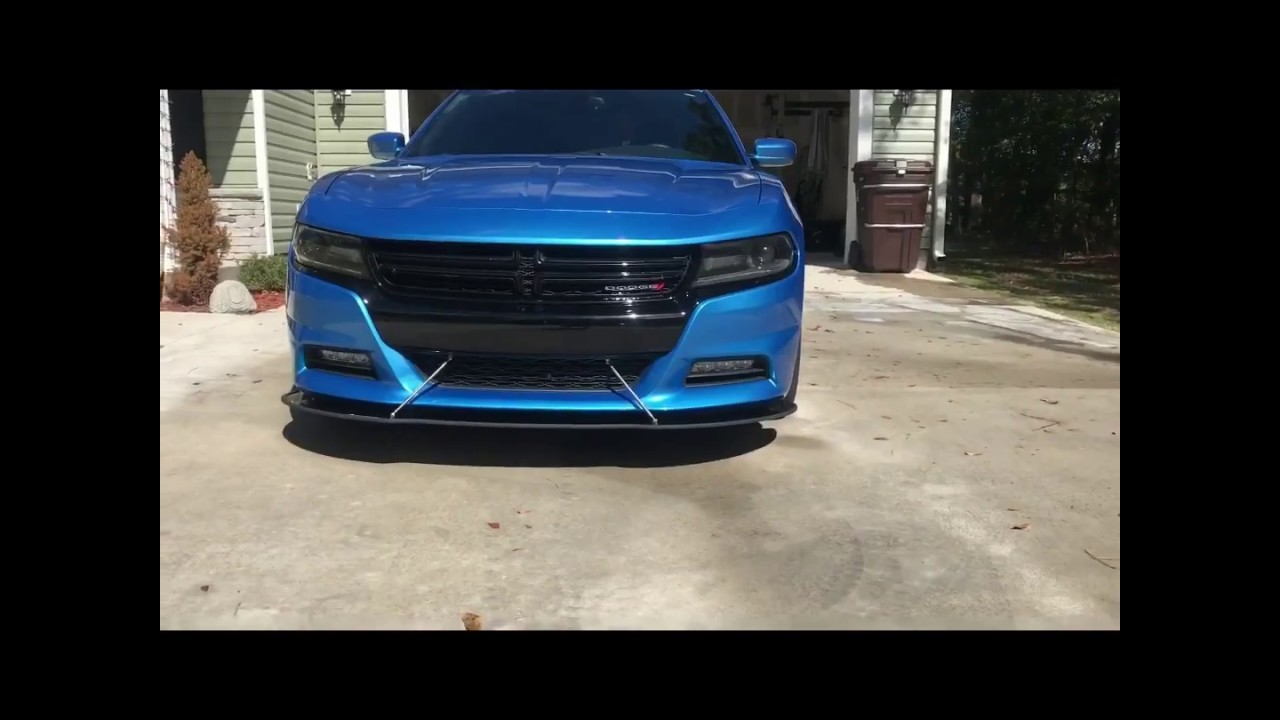Bj S Garage 570 Dodge Charger Rt Front Splitter Review