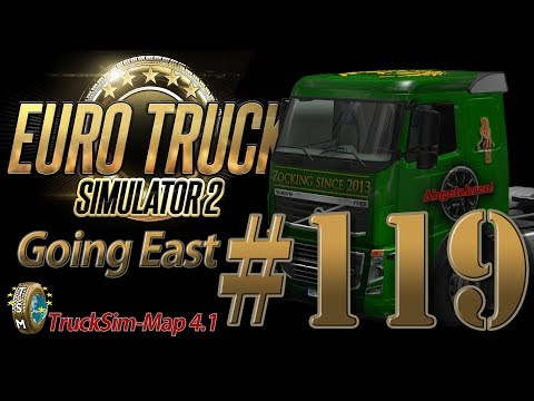 Euro Truck Simulator 2 Going East DLC [HD] ✪ Let's Play #119 |