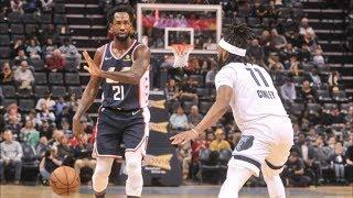 Clippers 4 Wins Ahead of Lakers! Harrell 30 Pts! 2018-19 NBA Season