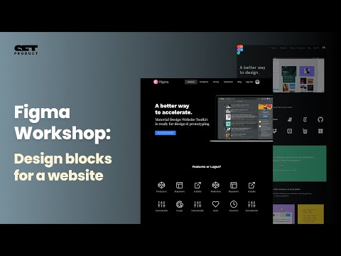 Figma website templates  Web design kit to double a landing page conversion