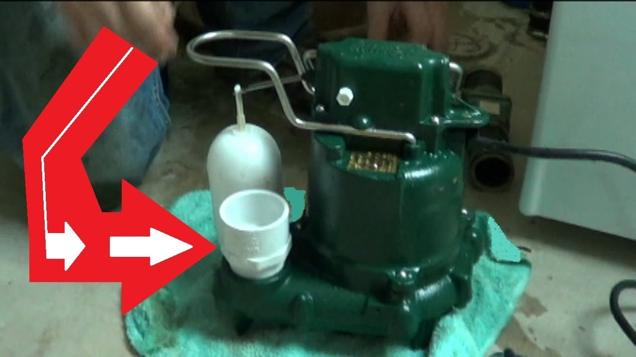 Easy Sump Pump Install Sump Pump Replacement French