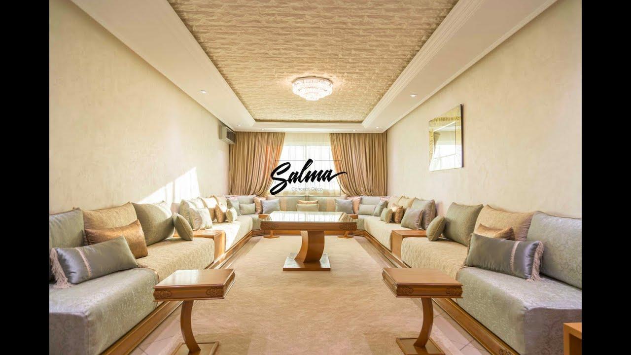 AMÉNAGEMENT ET DÉCORATION: SALON MAROCAIN 2019 - ديكور شقة فخمة و صالون  مغربي عصري
