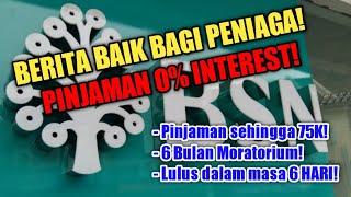 Pinjaman Bsn Micro I-kredit Prihatin - Berita Baik Bagi Peniaga!