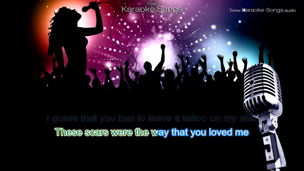 "Hilary Duff ""Tattoo"" Instrumental Karaoke Version with ..."