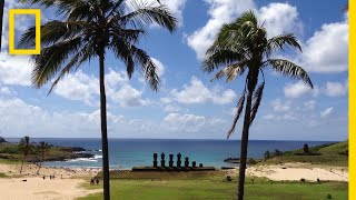 The Mysteries of the Moai on Easter Island | National Geographic thumbnail
