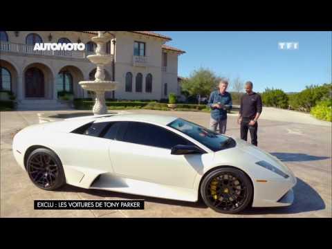 Tony Parker présente... sa Lamborghini Murciélago de 750 ch
