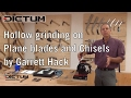 Sharpening with Garrett Hack - Hollow Grinding on Chisels and Plane blades | EN Original Version