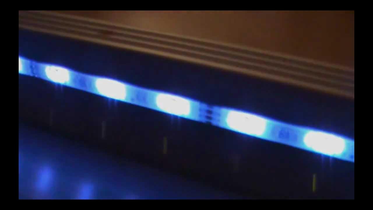 LED Einbau Wohnzimmer - YouTube