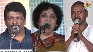 Latha Rajinikanth and Parthiban to help street children | Lawrence speech at Abhayam Event