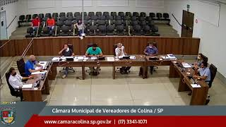 Câmara Municipal de Colina - SP - 15ª Sessão Ordinária - 04/10/2021