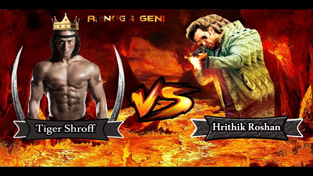 tiger shroff vs hrithik roshan siapa yang lebih keren ? - youtube
