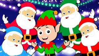 Five In The Bed Santa | Christmas Songs And Videos For Children | Christmas Carols by Kids Tv