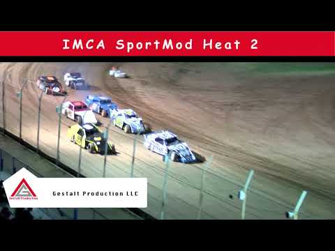 USA Raceway  IMCA Sport Mod Heat Race  August 17 2019
