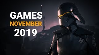 15 Upcoming Games Of November 2019 | Pc , Ps4 , Xbox One , Nintendo Switch