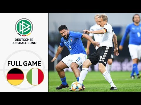 Germany vs. Italy 3-3 | Full Game | Legends Game