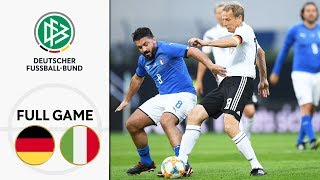 Germany vs Italy 3 3 Full Game Legends Game