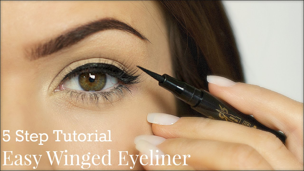 Eyeliner tutorial 5 steps themakeupchair youtube ccuart Choice Image