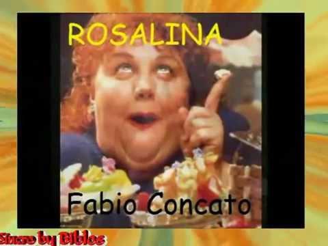 Fabio Concato   Rosalina cori Vers salsa karaoke fair use