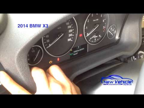 2014 Bmw X3 Oil Light Reset Service Light Reset Youtube