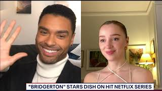 Stars of the hit Netflix show 'Bridgerton' dish on filming and fame | FOX 5 DC
