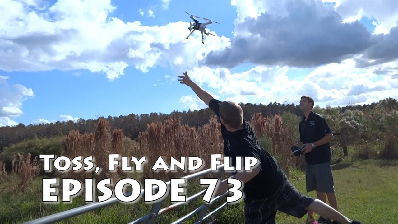 Walkera X350 Pro Toss, Fly and Flip a DroneCode Quadcopter !