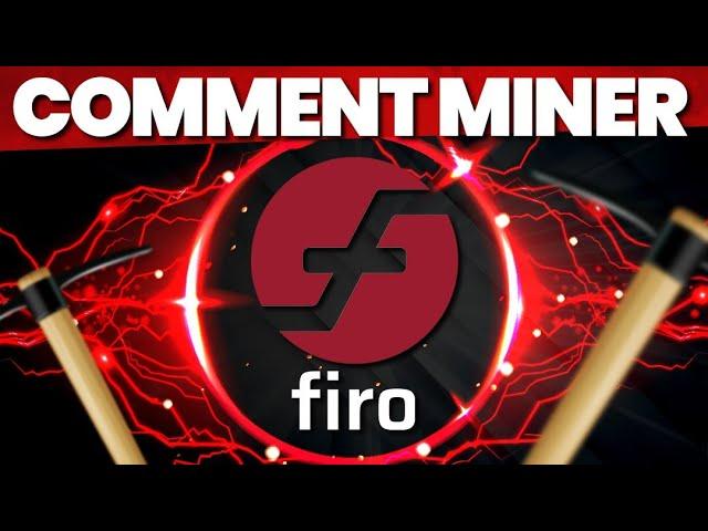 Comment miner du Firo (FIRO) ?