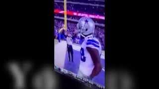 Dez Bryant Whip Dancing against New York Giants Odell Beckham
