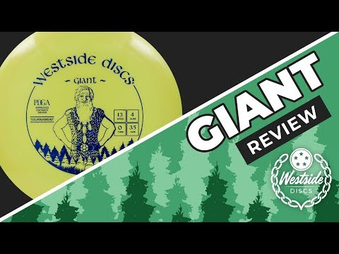 Westside Discs Giant Review and Giveaway! | Danny Lindahl