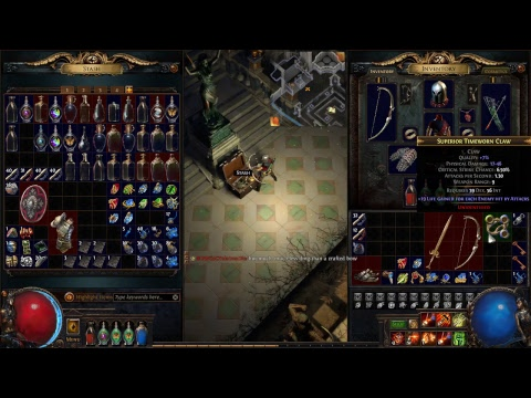 Path Of Exile  game play walkthrough The Labyrinth Part 2